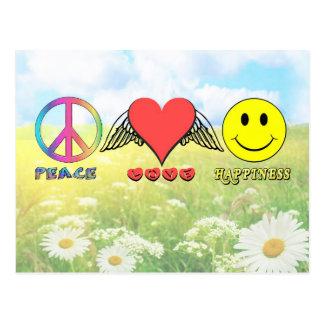 Harmony - Wishing you Peace, Love and Happiness! Postcard