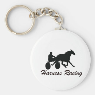 Harness Racing Keychain