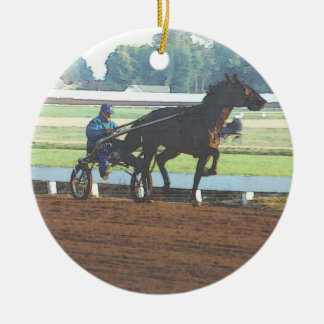 Harness racing ornament