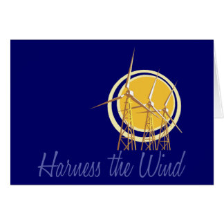 Harness the Wind (2) Note Card
