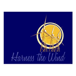 Harness the Wind (2) Postcard
