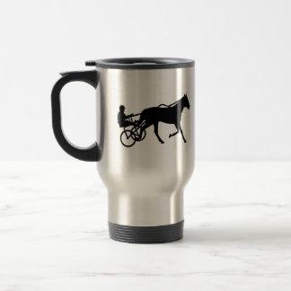 Harness trotting race travel mug