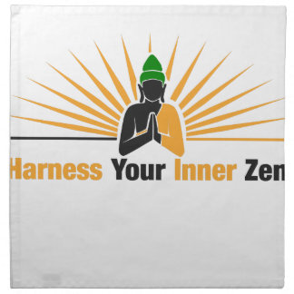 Harness Your Inner Zen Napkin