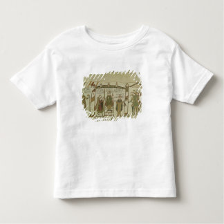 Harold  is offered the crown and the toddler t-shirt