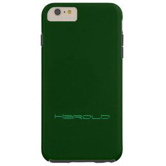 Harold Luxury Green iPhone Plus cover