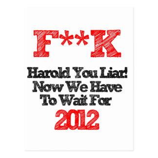 harold postcard