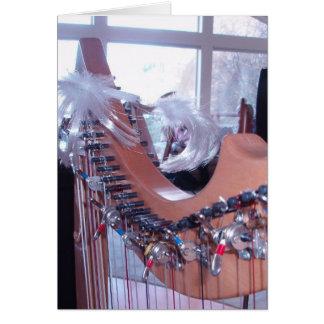 Harp Fun Card