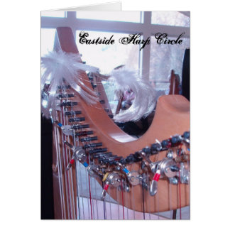 Harp Fun  Eastside Harp Circle Card