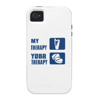 harp is my therapy vibe iPhone 4 cover