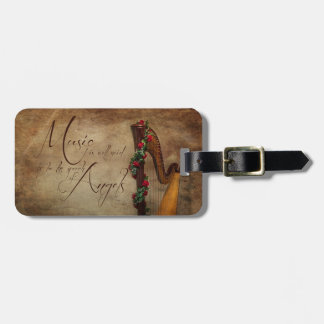 Harp Luggage Tag