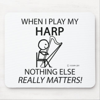 Harp Nothing Else Matters Mousepads