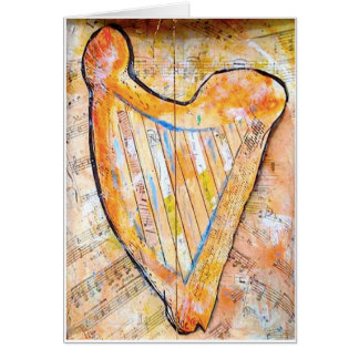 harp of gold card