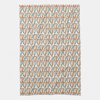 Harp Patterned Towel