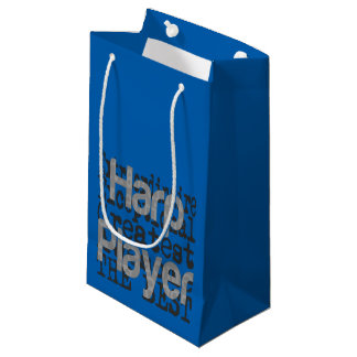 Harp Player Extraordinaire Small Gift Bag