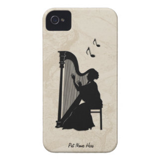 Harp Player  iPod Touch Case Personalize