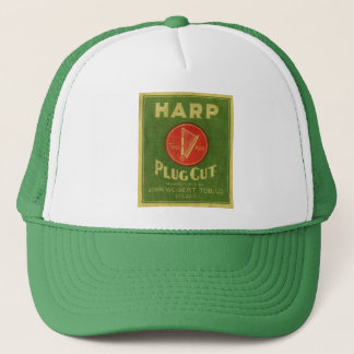 Harp Plug Cut Tobacco Trucker Hat