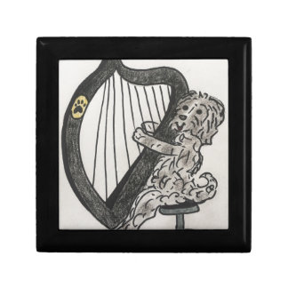 Harp puppy gift box