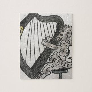 Harp puppy jigsaw puzzle
