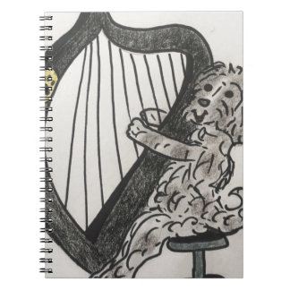 Harp puppy notebook