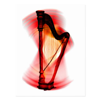 Harp spin postcard