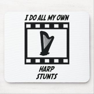 Harp Stunts Mouse Pad