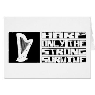 Harp Survive Card