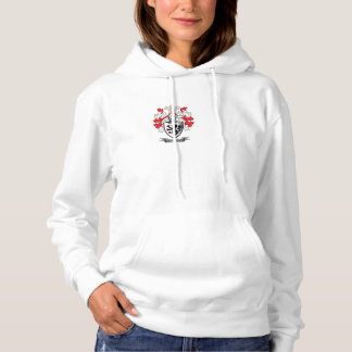 Harper Family Crest Coat of Arms Hoodie