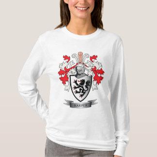 Harper Family Crest Coat of Arms T-Shirt