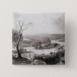 Harper's Ferry, West Virginia 2 Inch Square Button
