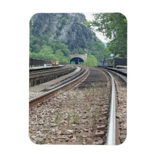 Harpers Ferry WV Railroad Tracks Magnet