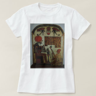Harpist plays before Horus on the Horizon T-Shirt
