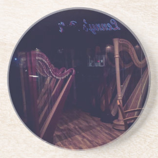 Harps in shadow coaster