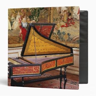 Harpsichord, 1634 3 ring binders