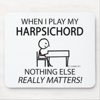 Harpsichord Nothing Else Matters Mouse Pad