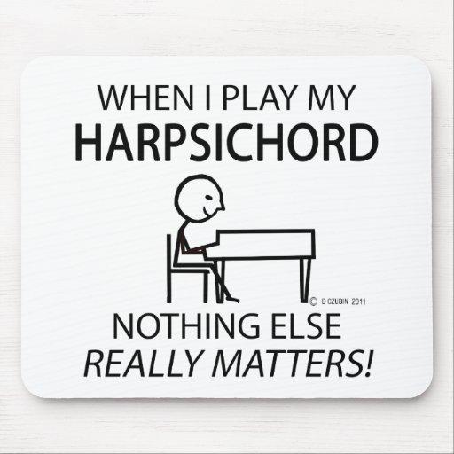 Harpsichord Nothing Else Matters Mousepads