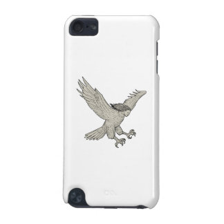 Harpy Swooping Drawing iPod Touch (5th Generation) Cases