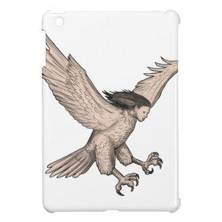 Harpy Swooping Tattoo iPad Mini Case