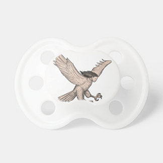 Harpy Swooping Tattoo Pacifier