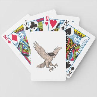 Harpy Swooping Tattoo Poker Deck