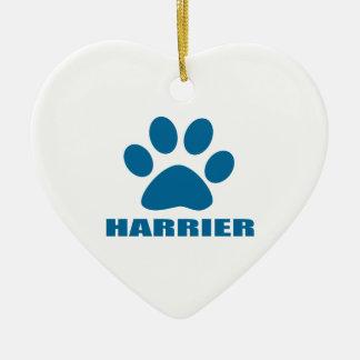 HARRIER DOG DESIGNS CERAMIC ORNAMENT