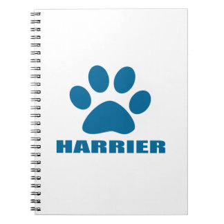 HARRIER DOG DESIGNS NOTEBOOK