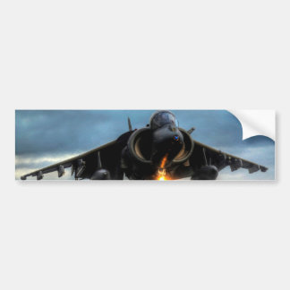 Harrier Fighter Jet Bumper Sticker