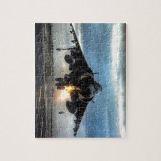 Harrier Fighter Jet Jigsaw Puzzle
