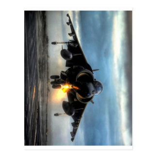 Harrier Fighter Jet Postcard
