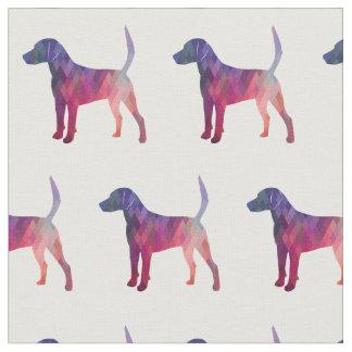 Harrier Hound Dog Tiled Fabric