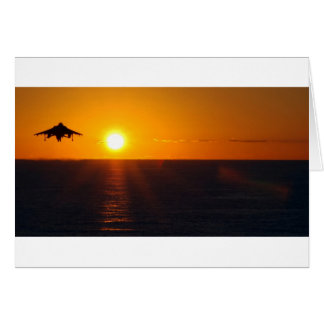 """HARRIER SUNRISE"" GREETING CARD"