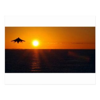 HARRIER SUNRISE POST CARD