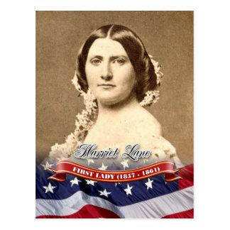 Harriet Lane, First Lady of the U.S. Postcard