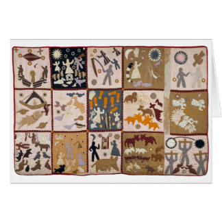 Harriet Powers - Pictoral Quilt 1898 Card