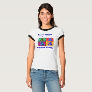Harriet Tubman Inspires me to Support Women T-Shirt
